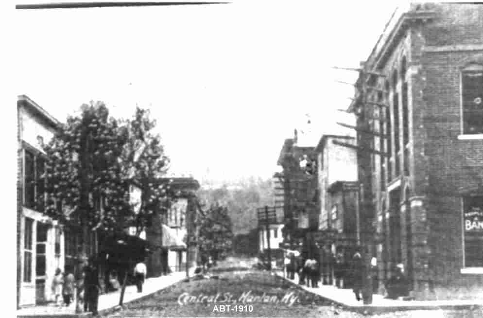 central street 1910