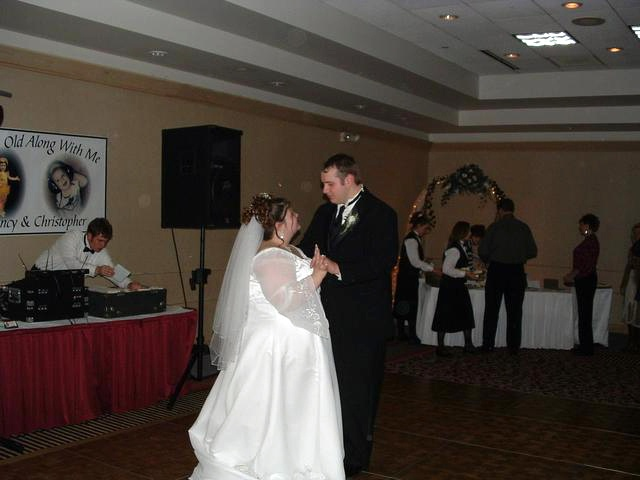 Chris and Nancys wedding dance