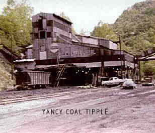 Harlan fuel company at Yancy